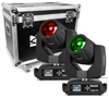 Tiger 7R 230W Moving Head Beam & Spot 2pcs in Flightcase