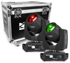 Tiger E 7R 230W Moving Head DMX 16CH. 2pcs in flightcase