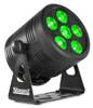 BeamzPro BBP66 Uplight Par 6 x 6W 4in1 RGBW Libatt DMX IRC