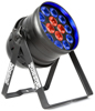 BeamzPro BPP225 PAR 64-14x18W 6in1 DMX IRC 2 ring cntr Pwr.con