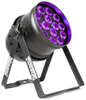 BeamzPro BPP230 PAR 64-14x15W UV DMX IRC Pwr.con