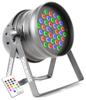 LED PAR 64-36 x 3W Alu RGBW IR DMX