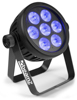 BeamzPro BAC500 ProPar Alu 7x14W 7in1 RGBA WW/CW-UV DMX
