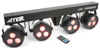 MAX LED PARBAR 4Way Kit 4- 3x3W 4-in-1 RGBW DMX incl.stand