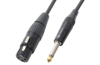 Cable XLR Female-6.3 Mono 1,5m