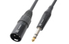 PD Connex Cable XLR Male-6.3 Stereo 1.5m
