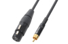 Cable XLR Female-RCA Male 3.0m