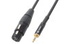 Cable XLR Female-3,5 Stereo 0,5m