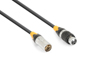 DMX IP65 XLR Male-XLR Female 12.0m