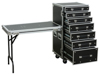 Power Dynamics PD-FA5 7 Drawer Eng. Case + Table