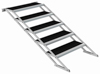 Power Dynamics Stage Adjustable Stairs 80-140cm
