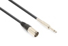 Vonyx Cable XLR Male-6.3 Mono 1.5m
