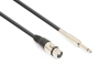 Vonyx Cable XLR Female-6.3 Mono 1,5m