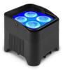 Beamz BBP94W Uplight Par 4x12W 6in1 LiBatt wrlsDMX IRC