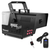 Beamz Rage1500LED Smokemachine 6x3W 3in1 RGB DMX Timer cntr