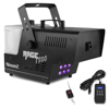 Beamz Rage1800LED Smokemachine 6x4W 4in1 DMX Timer cntr