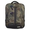 Backpack Slim Black Camo/Orange inside