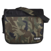 Courier Bag Black Camo Orange inside