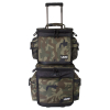 SlingBag Trolley Set DeLuxe Black Camo Orange inside