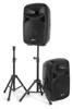 Vonyx VPS102A ActSpeakSet10LED MP3/BT. Stands.micro