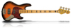 Sandberg Cal TM4 Tobacco Sunburst Soft Aged Maple FB Black blocks Tortoise PG