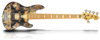 Sandberg Cal TM5 Buckeye Maple/Mahog Steamed Oak FB