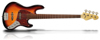 Cal TT4 Passive 3-Tone Sunburst Matt Ash body Tortoise PG
