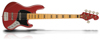 Sandberg Cal TT5 Metallic red Maple FB Bl.blocks matched head
