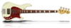 Sandberg Cal VM4 Cream High Gloss White block inlays Tortoise PG