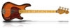 Sandberg Cal VS4 Tobacco Sunburst HA Reserve Maple FB Black dots Black PG