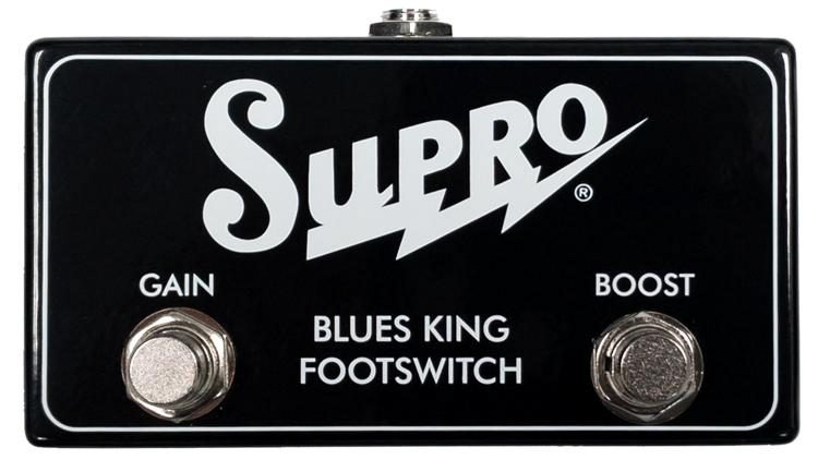 SUPRO Blues King 12 2-way Footswitch