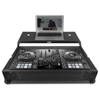 UDG Flight Case Pioneer DDJ-800 Black Plus (Laptop shelf)