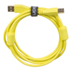 UDG USB 2.0 A-B Yellow Straight 1m