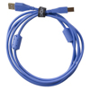 UDG USB 2.0 A-B Blue Straight 1m