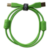 UDG USB 2.0 A-B Green Straight  1m