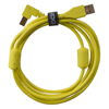 UDG USB 2.0 A-B Yellow Angled 1m