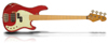 Cal VM4 Metallic Red HC Aged Maple FB Wh