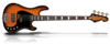 Sandberg VT4 Tobacco burst Soft Aged RW Bl.Blocks