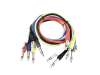 Jack cable 6.3 Patchcord stereo 6x0.9m