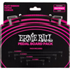 Ernie Ball EB-6224 Flat Patch Cable Multipack