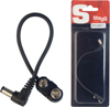 Stagg 15cm DC Power Male Battery 9V Snap Angled