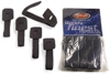 Stagg 5 hook and loop fasteners for cables 225mm