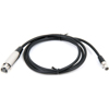 WA310 mic cable, TA4F to XLR female