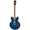 Epiphone Dot Deluxe Flame Maple Blueberry Burst