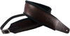 Profile FPB05 Pro Italian Leather Guitar Strap Dark Brown