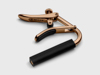 Schubb C2gr Classical Guitar Capo, Rose Gold