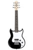 SDC-1-MINI-BK Mini Electric Guitar, Black
