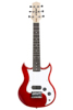 SDC-1-MINI-RD Mini Electric Guitar, Red