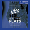 M3075 | BASS BRITE FLATS | Flatwound Medium 049-108
