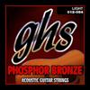 S325 | 5-PACK | PHOSPHOR BRONZE | Light 012-054